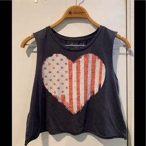 American eagle outfitter cropped top